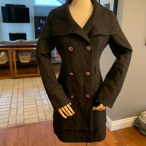 Guess Size S Wool/Poly Winter Coat
